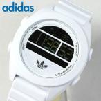 adidas アディダス メンズ 腕時計 SANTIAGO サンティアゴ デジタル XL 白 ホワイト ADH2908