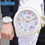 ポイント10倍 アディダス adidas BRISBANE ブリスベン 白 ホワイト 腕時計 メンズ レディース ADH2945