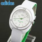 adidas アディダス ADH3122 海外モデル STAN SMITH スタンスミス アナログ レディース 腕時計 ホワイト グリーン シリコン ラバー バンド