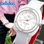 adidas アディダス ADH3124 海外モデル STAN SMITH スタンスミス アナログ レディース 腕時計 ホワイト レッド ラバー バンド キッズ