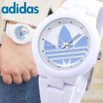 adidas アディダス ADH3142 海外モデル アバディーン アナログ レディース 腕時計 ユニセックス 白 ホワイト ブルー シリコン ラバー