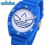 クーポンで555円OFF adidas アディダス サンティアゴ SANTIAGO メンズ レディース 腕時計 ユニセックス 白 ホワイト 青 ブルー シリコン ADH3196 海外モデル