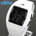 adidas アディダス クオーツ ADP3263 海外モデル DURAMO MID デジタル メンズ レディース 腕時計 黒 ブラック 白 ホワイト ウレタン バンド