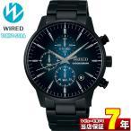 WIRED ワイアード SEIKO セイコー AGAT422 TOKYO SORA トウキョウソラ メンズ 腕時計 国内正規品 黒 ブラック 青 ブルー メタル
