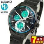 セイコー ワイアード 腕時計 SEIKO WIRED REFLECTION リフレクション クロノグラフ メンズ AGAV121 国内正規品 ブラック