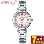 WIREDf ワイアードf SEIKO セイコー ソーラー AGED099 レディース 腕時計 ポイント最大22倍 国内正規品 ピンク シルバー メタル