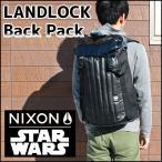 NIXON ニクソン ランドロック スターウォーズ ダースベイダー STAR WARS  リュック C1953SW-2244-00 海外モデル メンズ バッグ 黒 ブラック レザー ポリエステル