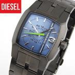 限定セール DIESEL ディーゼル DZ1602 海外モデル メンズ 腕時計 青 ブルー ガンメタル クリフハンガー