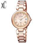 レビュー3年保証 CITIZEN シチズン xC クロスシーレディース 腕時計 HAPPY FLIGHT ハッピーフライト 金 ピンクゴールド EC1032-54X 国内正規品