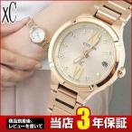 CITIZEN シチズン XC クロスシー レディース 腕時計ES8082-54P ソーラー 電波時計 ピンクゴールド ティタニア ライン ミニソル 国内正規品