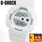 ショッピングShock CASIO カシオ G-SHOCK Solid Colors ソリッドカラーズ Gショック ジーショック GD-100WW-7 Standard ホワイト 白 腕時計 メンズ 海外モデル 逆輸入