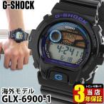 レビュー3年保証 Gショック G-SHOCK ジーショック GLX-6900-1 ブラック 黒 G -SHOCK G-LIDE腕時計
