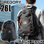 GREGORY グレゴリー 65109-1041 メンズ バッグ 黒 ブラック デイバッグ リュック バックパック 鞄 カバン 通勤 通学 大容量