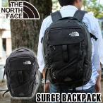 ショッピングNORTH THE NORTH FACE ザノースフェイス SURGE サージ CLH0 JK3 海外モデル メンズ レディース 黒 ブラック バックパック リュック 大容量 多機能