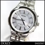 ポイント10倍 SEIKO セイコー 電波 ソーラー DOLCE&EXCELINE ドルチェ&エクセリーヌ メンズ 腕時計 SADZ067