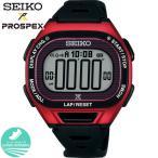PROSPEX プロスペックス SEIKO セイコー スーパーランナーズ ソーラー SBEF047 デジタル メンズ 腕時計 レビュー7年保証 国内正規品 黒 ブラック レッド