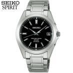 ショッピングSelection 25日から最大31倍 レビュー7年保証 セイコー スピリット 腕時計 SEIKO SPIRIT 電波ソーラー 電波 ソーラー メンズ チタン SBTM217 国内正規品 黒 ブラック