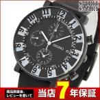 ショッピングSelection レビュー7年保証 セイコー スピリット 腕時計 SEIKO SPIRITメンズ クロノグラフ SOTTOSASS ソットサス SCEB041