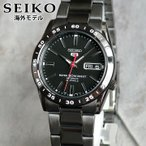 ポイント最大10倍 SEIKO 逆輸入 セイコー5 ファイブ SNKE03KC SNKE03K1 メンズ 腕時計 海外モデル ブラック 黒 誕生日プレゼント 男性