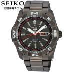 SEIKO5 セイコー5 SPORTS SNZJ11JCアナログ メカニカル自動巻 ブラック黒 腕時計メンズ デイデイト 正規海外モデル