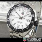 TAG Heuer タグホイヤー WAZ1111.BA0875 海外モデル FORMULA1 フォーミュラ1 アナログ メンズ 腕時計 白 ホワイト 銀 シルバー メタル バンド