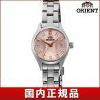 22日から最大42倍 ORIENT オリエント Neo70s ネオセブンティーズ WV0211SZ スターカット レディース 女性用 腕時計 シルバー ピンク