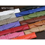 ZRC  ズッコロ NEW YORK(ニューヨーク) サテンカウハイド ショートサイズ 時計ベルト 対応サイズ:16mm,18mm,20mm,22mm