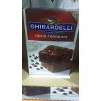 Ghirardelli ギラデリ  トリプル チョコレート ブラウニー ミックス特大3.4Kg 6袋x 566g  並行輸入品