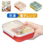 お弁当箱 ランチボックス 1段 作り置き冷凍 日本製 550ml 電子レンジ対応 食洗器対応 抗菌 (190-33) 女性 小食 AG 銀イオン ツェルトフリーズ