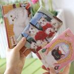 パスポートケース mariecat マリエキャット 旅行 カバー 猫 キャット 韓国 (107-17)
