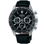 セイコーセレクション SEIKOSELECTION クロノグラフ SBTR021 SEIKO メンズ 腕時計 ブラック