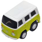 チョロQ zero Z-35b VWマイクロバス (緑/白)