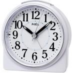 SEIKO NR439W(白パール) PYXIS 目覚まし時計