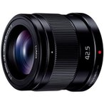 【長期保証付】パナソニック LUMIX G 42.5mm/F1.7 ASPH./POWER O.I.S.(ブラック)