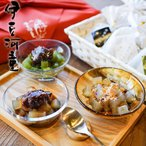 冬ギフト あんみつ 8個 セット 和菓子 送料無料 かご入り 贈り物 プレゼント 和スイーツ 食べ物 asu