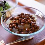 豆かんではありません。北海道産の赤えんどう豆とところてん。