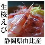 生桜えび 生桜エビ 由比産 平成29年秋漁 静岡県 新物 旬  冷凍便