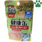 【1】 アイシア 猫用 パウチ 15歳から 健康缶 まぐろペースト 40g シニア猫用 一般食 キャットフード