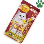 【1】 CIAO 猫用 おやつ スティック まぐろ 15g X 4本入り 国産 保存料不使用 いなば チャオ