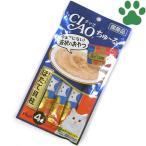 【1】 CIAO 猫用 おやつ ちゅーる まぐろ&ほたて貝柱 14g X 4本入り 国産 保存料不使用 いなば チャオ