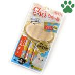 【1】 CIAO 猫用 おやつ ちゅーる オホーツクほたて貝柱 とりささみ しらす入り 14g X 4本入り 国産 保存料不使用 いなば チャオ