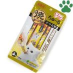 【1】 CIAO 猫用 おやつ ちゅーる 焼かつお かつお節味 12g X 4本入り 国産 保存料不使用 いなば チャオ