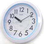 【35】 mag バスクロック 掛け時計 アクアガード ホワイト W662 WH-Z ノア精密 防滴仕様 お風呂 時計