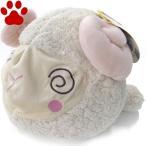 【30】 ペッツルート 超でっかいズーズー ヒツジ 小型犬用 おもちゃ ぬいぐるみ カラカラ鳴ります。ひつじ