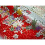 京・金彩友禅 絵草紙(白地)  (和柄 和風 衣装 生地)
