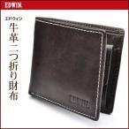 メール便発送 送料無料 エドウィン EDWIN 二つ折り財布 財布/2つ折財布 0510430