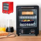 送料無料 D-STYLIST シンプルでスタイリッシュな縦型 オーブントースター/縦型 オーブン トースター