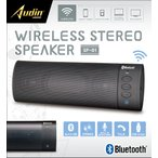 Bluetooth ステレオスピーカー ブラック スピーカー ワイヤレス パソコン USB 通話 /ステレオスピーカーKK-00495