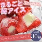 練乳 いちご アイス 30粒 送料無料 まるごと イチゴ アイス 苺 いちご バレンタイン イベント 指定日対応 誕生日 ギフト