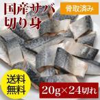 骨取り 国産サバ切り身 20g×24枚入り 送料無料 鯖 さば 骨抜き 骨取り魚